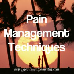 pain management techniques