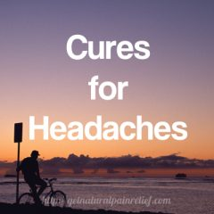 cures for headaches