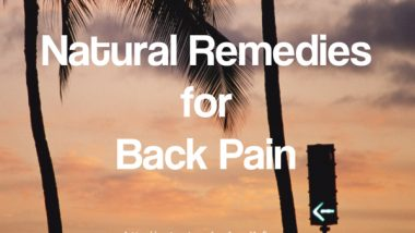 Natural Remedies for Back Pain